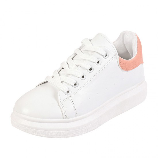 2020 Women′s Shoes Same Style White Shoes Thick-Soled Sneakers Casual Sport Shoe